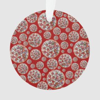 Empanada de pizza roja