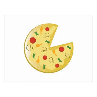 Empanada de pizza tarjetas postales
