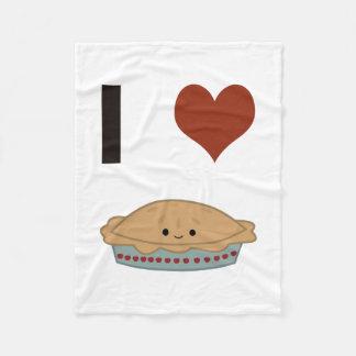 Empanada del corazón I (amor) Manta De Forro Polar