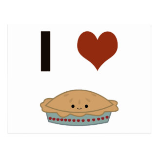 Empanada del corazón I (amor) Postal