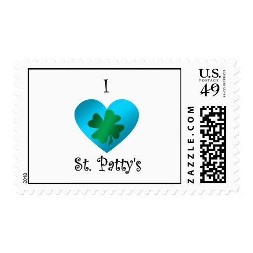 Empanada del santo del corazón I en verde y azul Envio