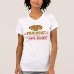Empanada divertida de la cereza camisetas