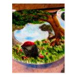 Empanada pintada postal