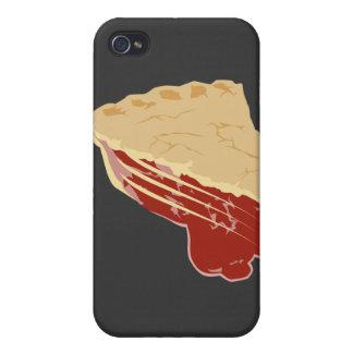 Empanada - rebanada de la cereza/de la fruta de la iPhone 4/4S carcasas