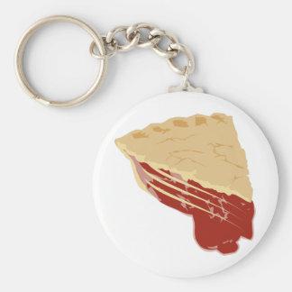 Empanada - rebanada de la cereza/de la fruta de la llavero redondo tipo pin