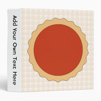 "Empanada roja. Tarta de la fresa. Control beige Carpeta 1 1/2"""