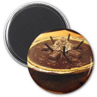 Empanada sifilítica del chocolate imán para frigorifico