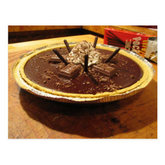 Empanada sifilítica del chocolate postal