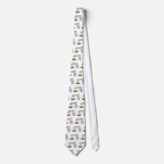Empanada y pi corbata personalizada