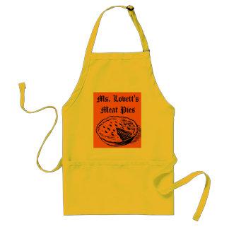Empanadas de carne de ms Lovett Delantal