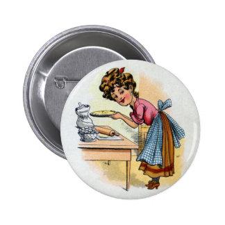 Empanadas de la hornada de la mujer pin