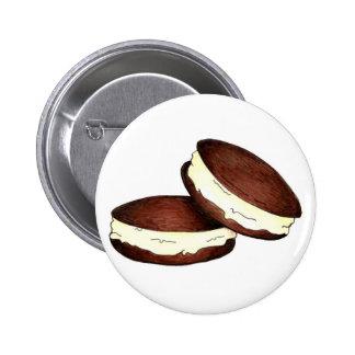 Empanadas de Whoopie Pin Redondo De 2 Pulgadas