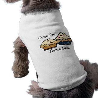 Empanadas del dibujo animado para empanada día el ropa de perro