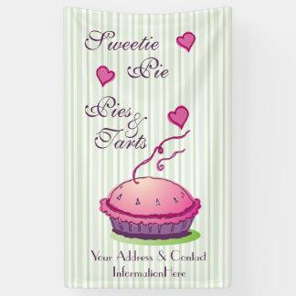 Empanadas y tartas de la empanada del Sweetie 5' Lona