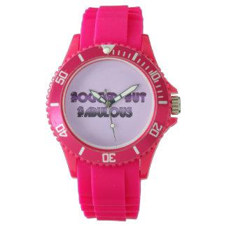 Empañado pero fabuloso relojes de pulsera
