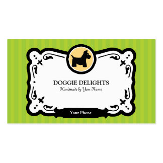 Empaquetado de la tarjeta o del mascota de visita  plantillas de tarjetas de visita