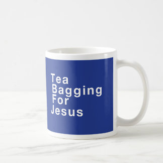 Empaquetamiento del té para Jesús Taza De Café