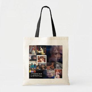"""Empaquete """"el trabajo de una mujer """" bolsa lienzo"""