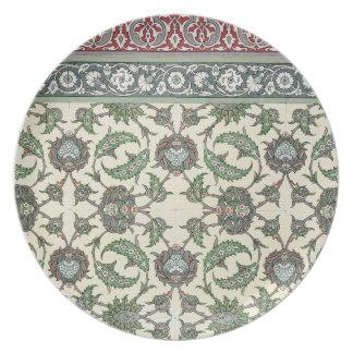 Emparede las tejas de la mezquita de Cheykhoun, de Plato