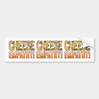 Empathy Blue Cheese Bumper Sticker