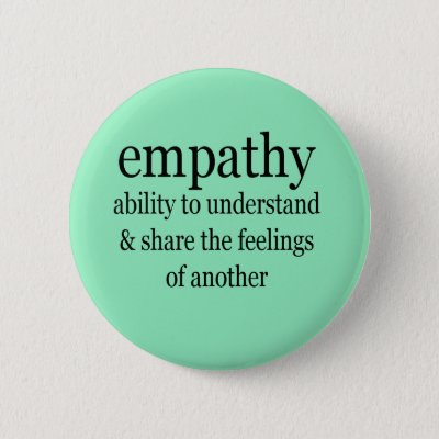 Make Empathy Great Again Square Pin | Zazzle.com