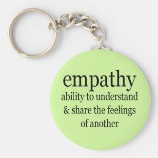 Empathy Definition Keychain