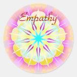 Empathy (Virtue sticker) Classic Round Sticker
