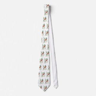 Empavesado pintado corbatas personalizadas