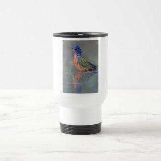 Empavesado pintado taza de viaje