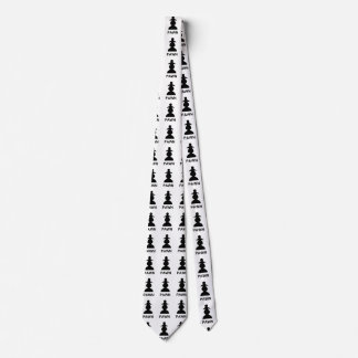 Empeño del ajedrez corbata personalizada