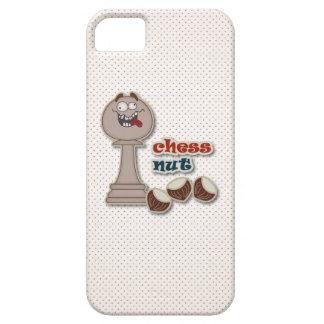 Empeño del ajedrez, nueces del ajedrez y castañas iPhone 5 Case-Mate fundas