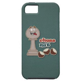Empeño del ajedrez, nueces del ajedrez y castañas iPhone 5 Case-Mate protector