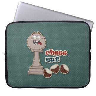 Empeño del ajedrez, nueces del ajedrez y castañas mangas computadora
