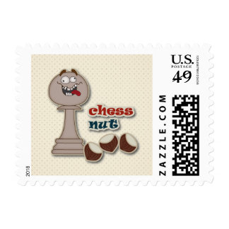 Empeño del ajedrez, nueces del ajedrez y castañas sellos