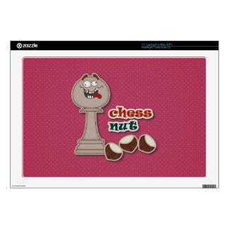 Empeño del ajedrez, nueces del ajedrez y castañas portátil 43,2cm skin