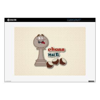 Empeño del ajedrez, nueces del ajedrez y castañas 38,1cm portátil calcomanías