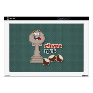 Empeño del ajedrez, nueces del ajedrez y castañas skins para 43,2cm portátil