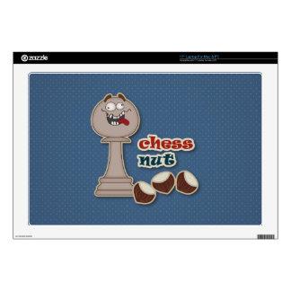 Empeño del ajedrez, nueces del ajedrez y castañas 43,2cm portátil calcomanía