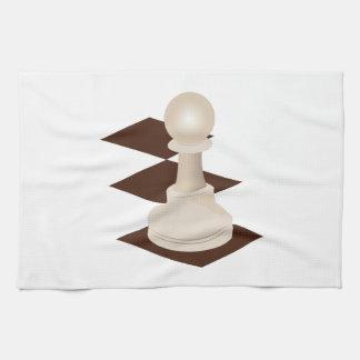 Empeño del ajedrez toallas de mano