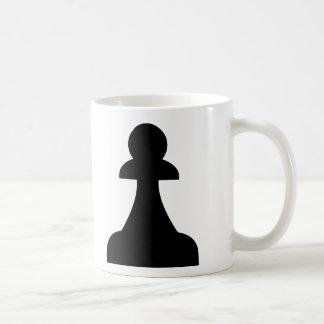 Empeño negro (1/8) taza clásica