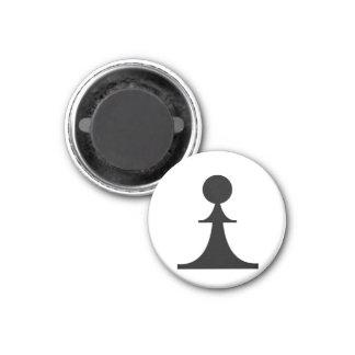 empeño negro (usted necesidad 8) imán redondo 3 cm