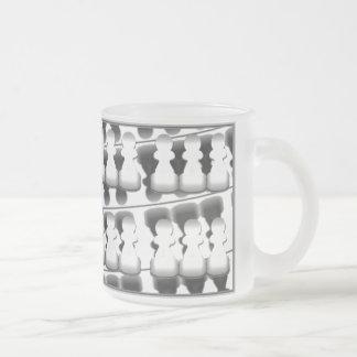 Empeños (blancos en negro) - taza