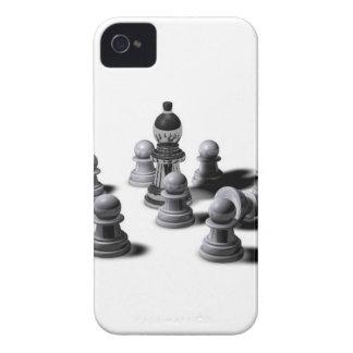 Empeños del ajedrez iPhone 4 carcasa