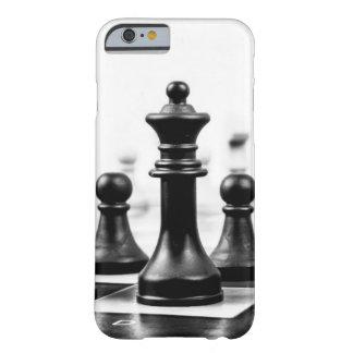 Empeños del tablero de ajedrez y caso de la reina funda de iPhone 6 barely there
