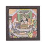 Emperador Akbar (r.1556-1605) entretenido por su f Caja De Joyas De Calidad
