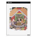Emperador Akbar (r.1556-1605) entretenido por su f Pegatinas Skins Para iPad 3