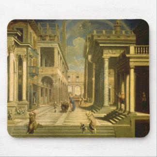 Emperador Augustus y la sibila 1535 Tapetes De Raton