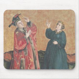 Emperador Augustus y la sibila de Tiburtine Alfombrilla De Ratón