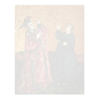 Emperador Augustus y Sybil de Tibur de Conrado Wit Plantilla De Membrete