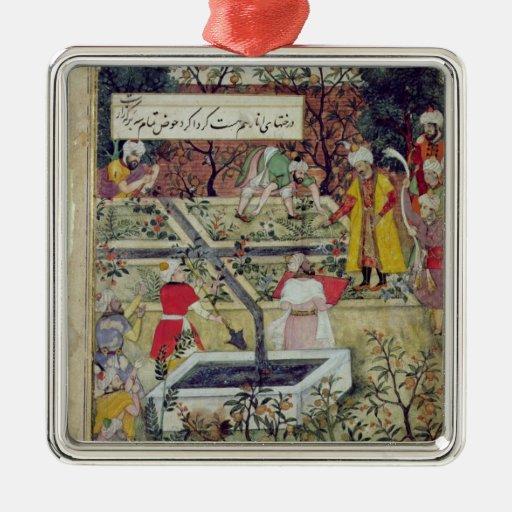 Emperador Babur Ornamentos De Reyes